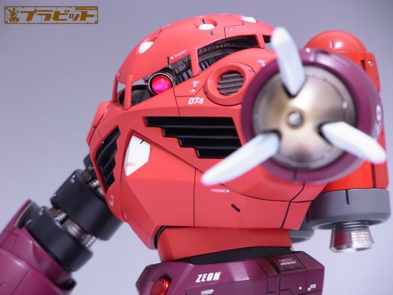 【売切れです・・・】MG 1/100 シャア専用ズゴック 改修塗装済み完成品